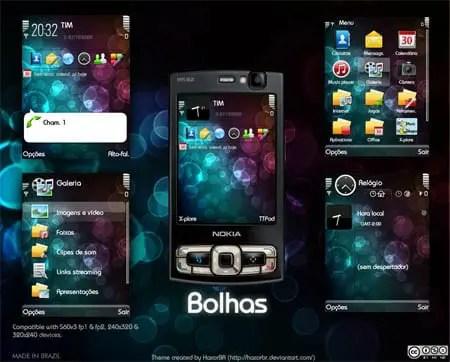 2j62xl5 - Tema: Bolhas para celulares Nokia N95, Eseries e outros