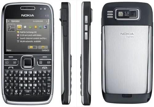 Nokia E72 a venda no Brasil