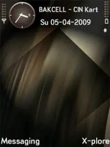 Tema Symbian Shadow