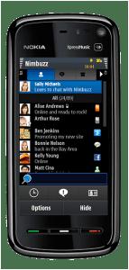 Symbian Nokia 5800 2.4 143x300 - Nova atualização: Nimbuzz para celulares Nokia, WinMo, iPhone, Android, PC e Mac