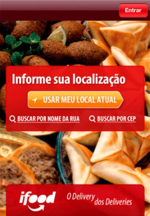 App iFood para Android e iOS