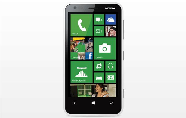 Lumia 920 - Tela de 3,8 polegadas