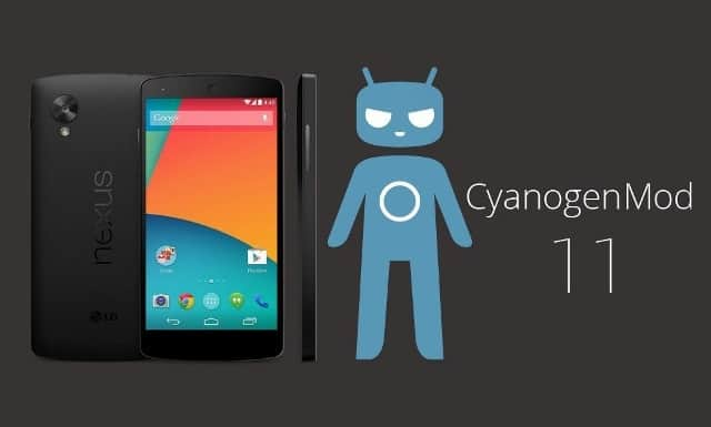 CyanogenMod 11 for-Nexus-5