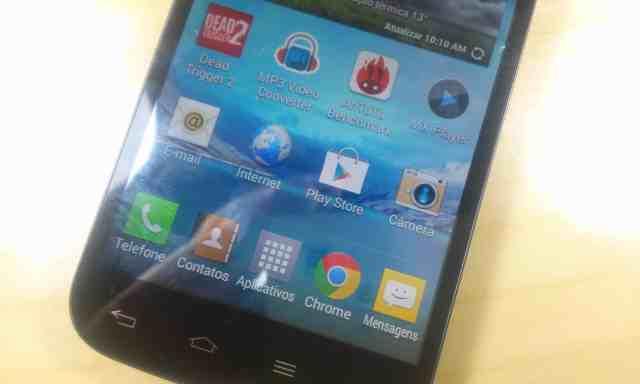 Review LG L70 tela
