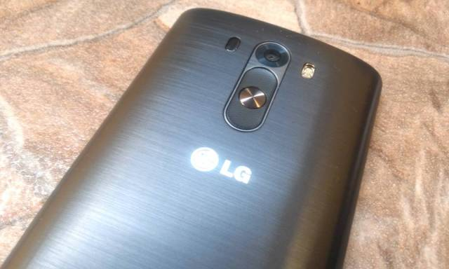 review LG G3 - traseira