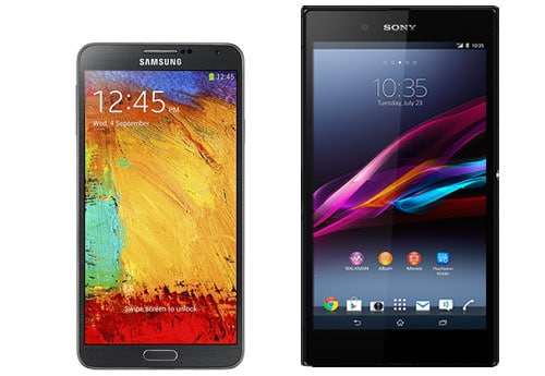 Xperia T2 Ultra vs Galaxy Note 3