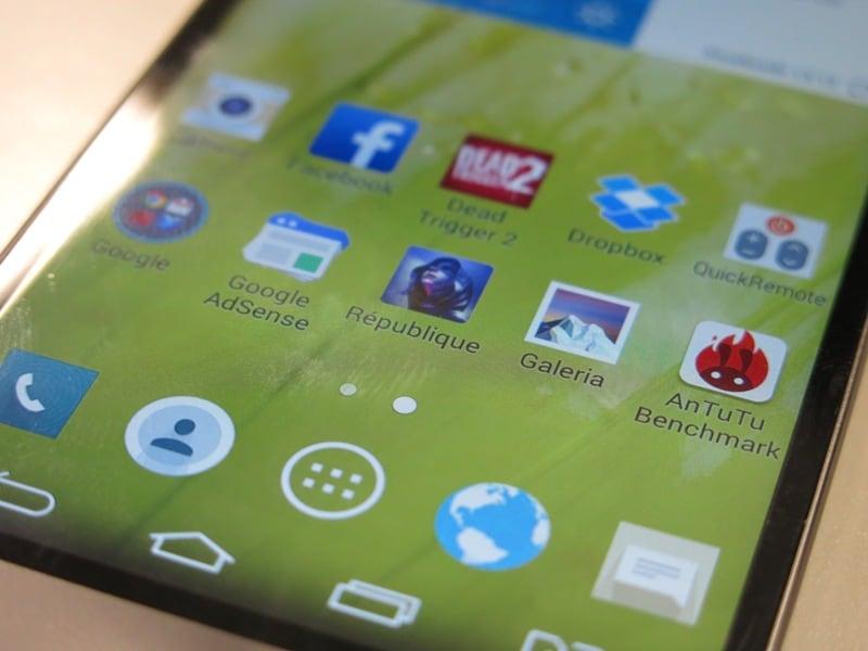 LG G3 BEAT tela