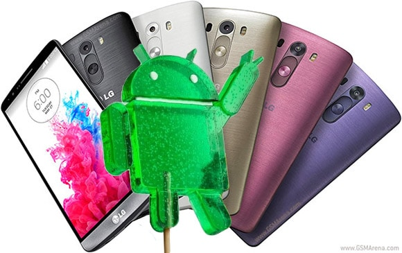 ÇG G3 android 5