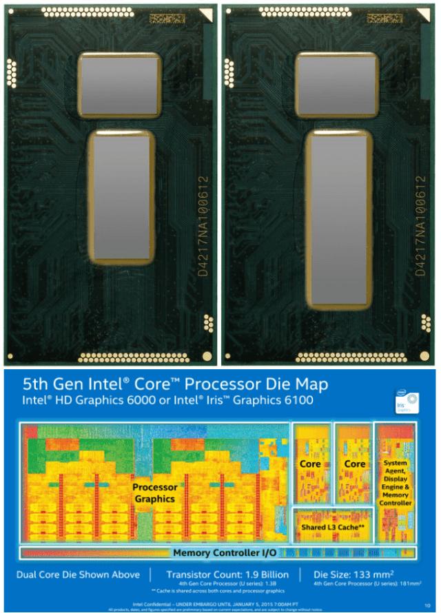 novos chips intel die mao