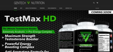 Gentech Nutrition Case Study Venture Website