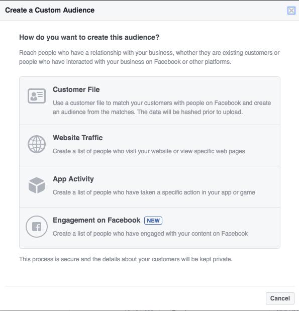 Facebook Retargeting Campaign - Custom Audience Website Traffic