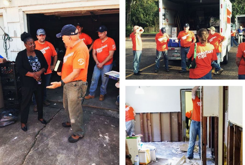 Helping Houston - Community Service - Aftermath of Hurricane Harvey