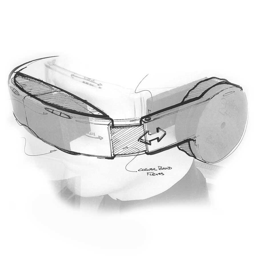 Avegant ergonomic sketch