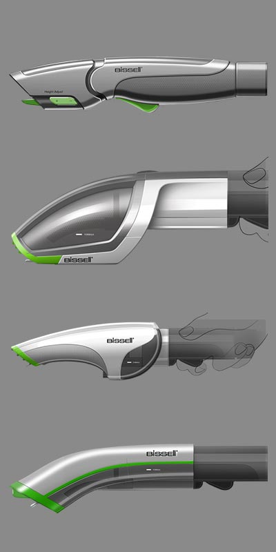 Bissell Vacuum FInal Prototypes