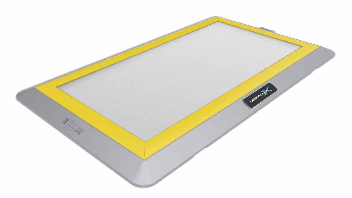 Helios Yellow Trim Gray Base
