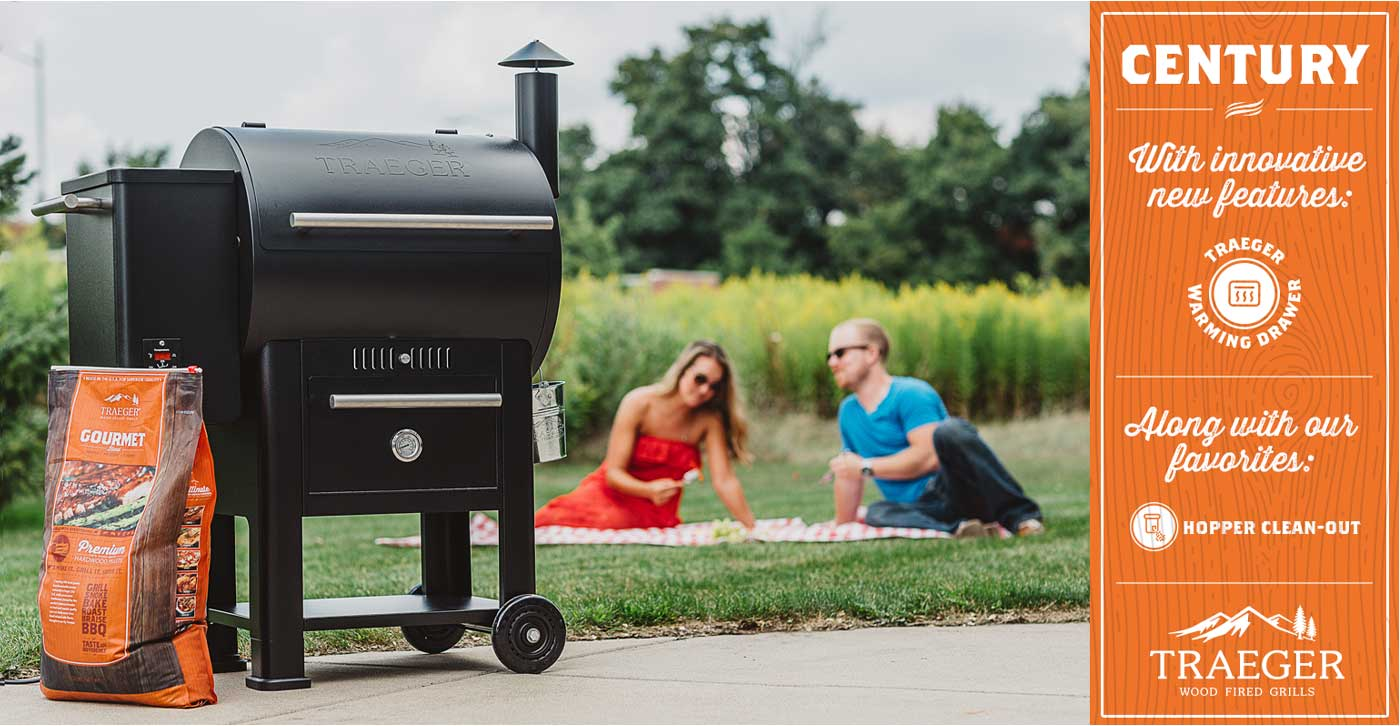 Traeger Century Grill Marketing