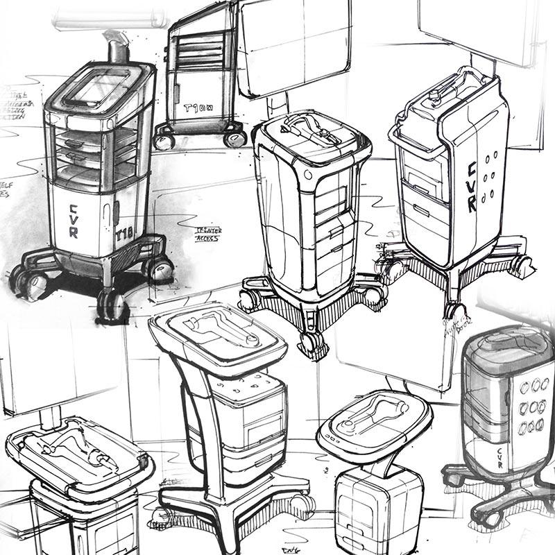 CVR sketch concepts
