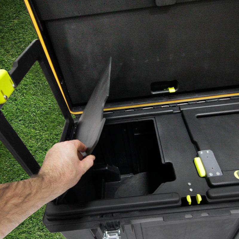 Irwin Job Box compartments