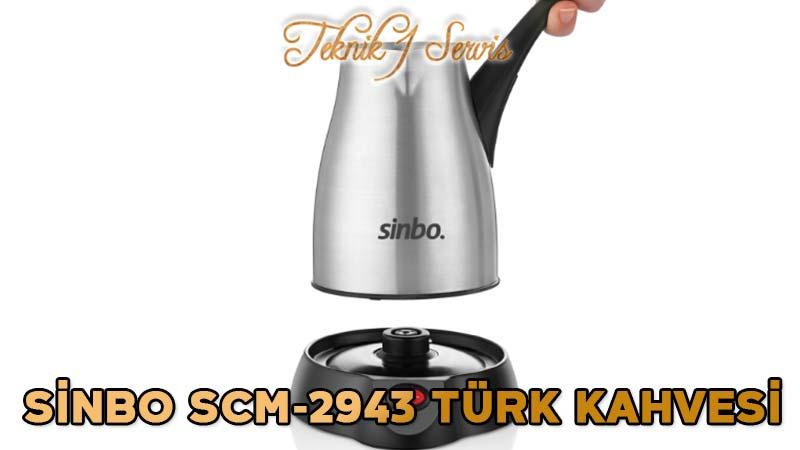 Sinbo SCM-2943 kahve makinesi