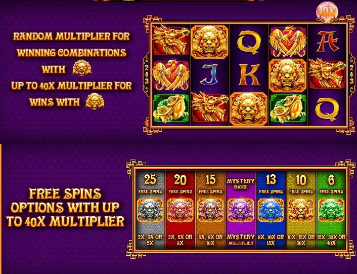 5 lions gold slot