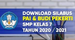 Download silabus pai budi pekerti k13 smp kelas 7