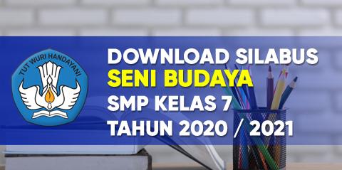 Download silabus seni budaya k13 smp kelas 7