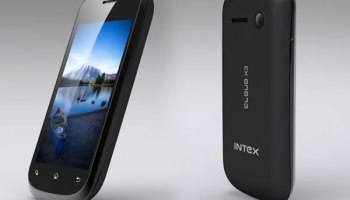 Intex Cloud X3 Released