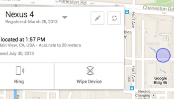 Track yout stolen Android Smartphone