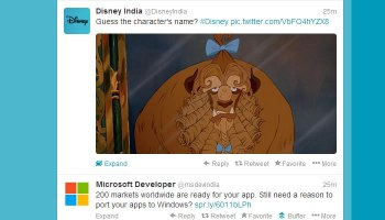 Twitter Timeline Inline Images and Videos
