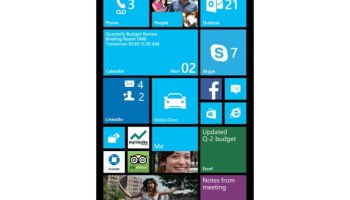 Windows Phone 8 Phablets