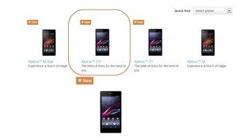 Xperia Z1s is the mini version of Z1