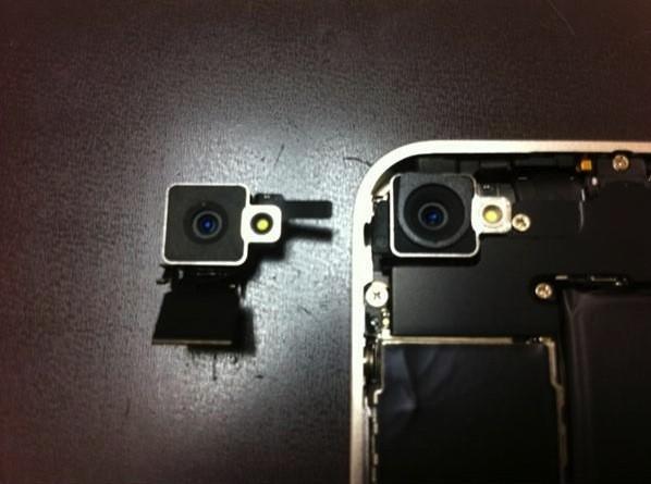 apple beyaz iphone 4 kamera Apple beyaz iPhone 4te hem kamera hem de yakınlık sensörünü elden geçirmiş