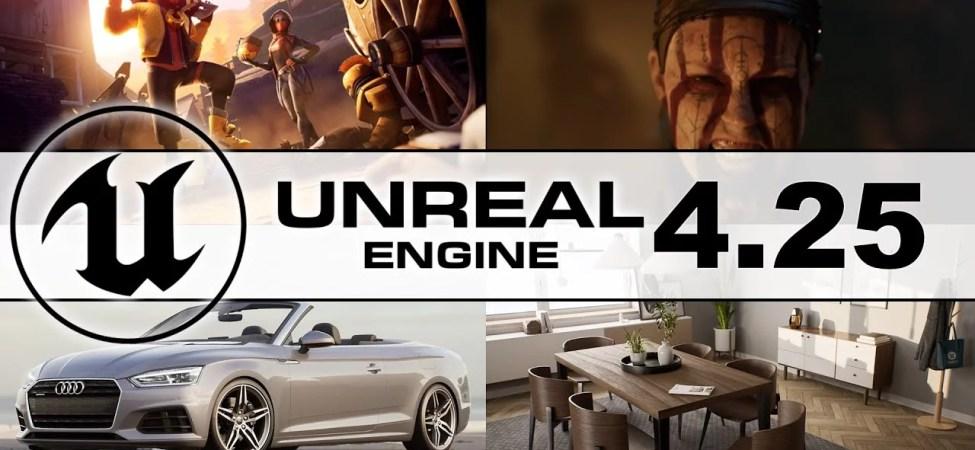 Unreal Engine 4.25 Yayınlandı, PlayStation 5 ve Xbox Series X Desteği Sunuyor