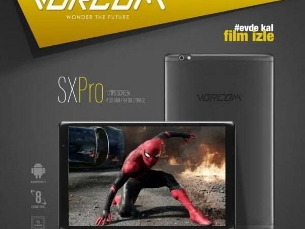 Vorcom Sxpro Tablet 2020