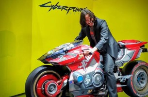 Cyberpunk 2077'De Motosiklet