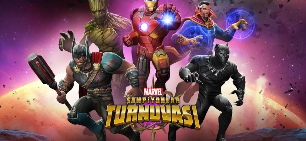 Marvel Şampiyonlar Turnuvası Apk Hileli İndir v29.2.1