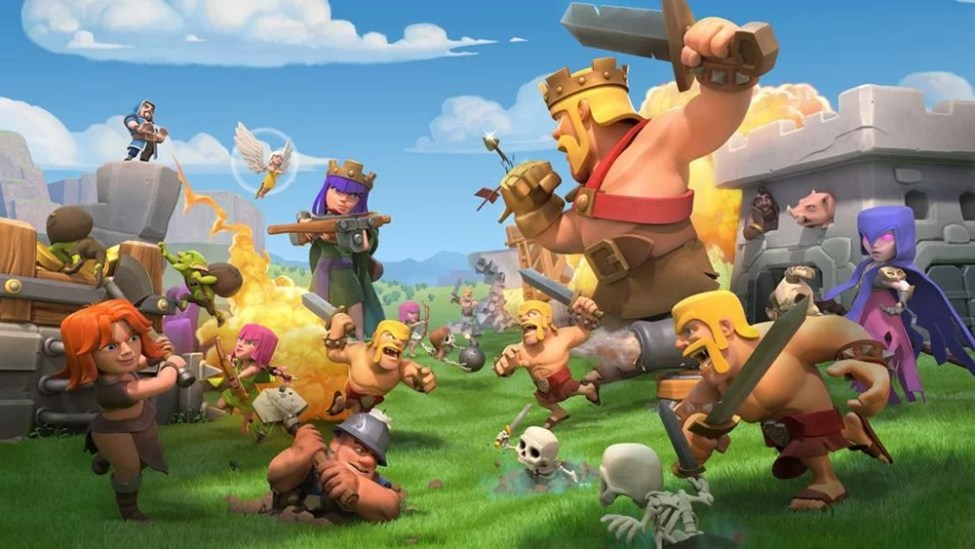 clash of clans game 1