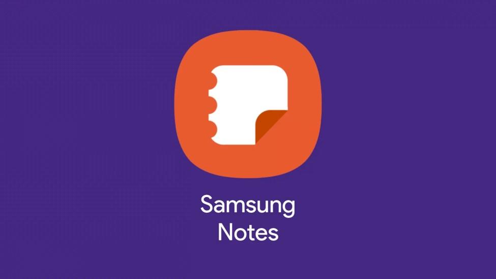 Samsung notes hero