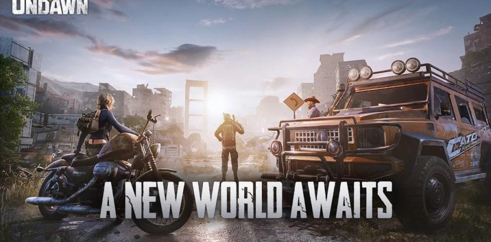 Undawn PUBG Mobile Studio, yeni mobil + PC hayatta kalma oyununu duyurdu. 2021