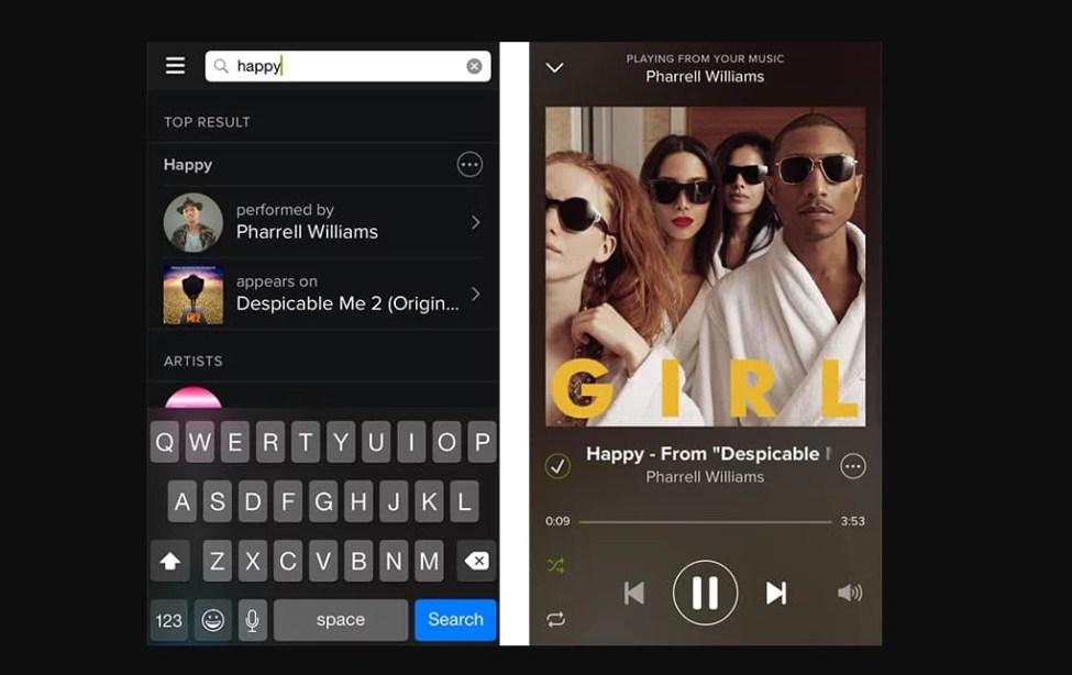 Spotify İstediğim Şarkıyı Dinleyemiyorum