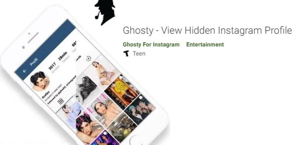 Ghosty Apk İndir v1.4.5 Son Sürüm Gizli İnstagram Profil Görüntüleme Uygulaması