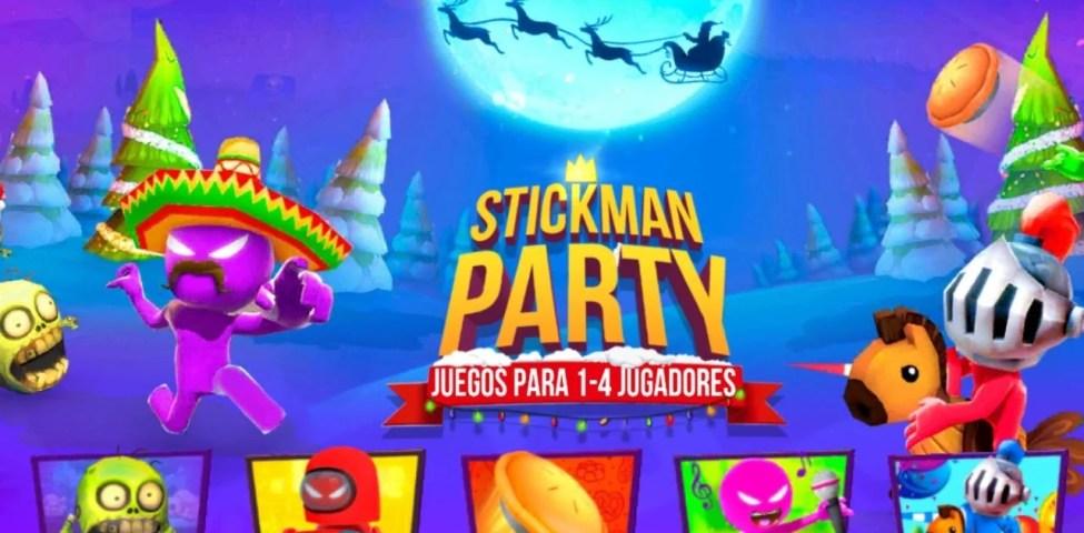 Stickman Party Apk İndir Para Hileli Mod 2.0.3 Güncel Sürüm