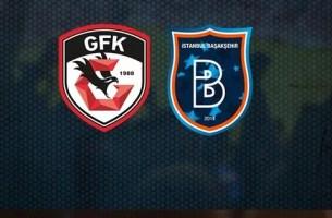 Gaziantep FK Başakşehir maçı canlı izle