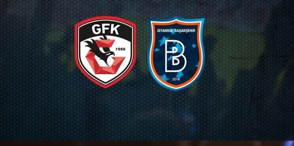 Gaziantep FK Başakşehir Maçı Canlı İzle