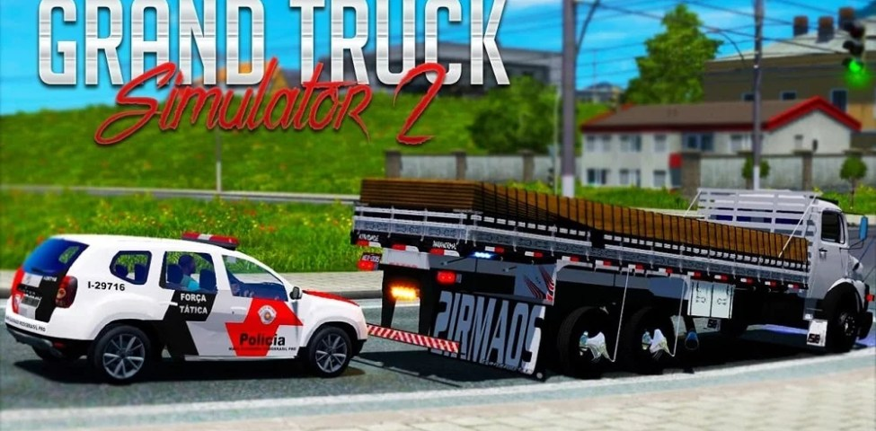 Grand Truck Simulator 2 Apk İndir (Mod Kilitsiz & Sınırsız Para)