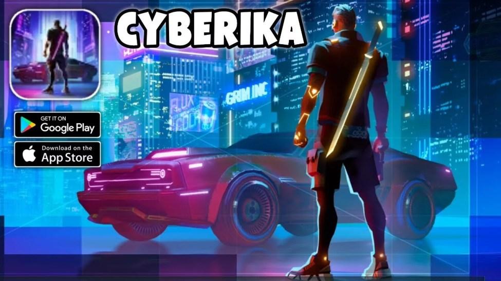 Cyberika Apk İndir (Mod Sınırsız Para Hileli) Cyberpunk RPG'yi indirin 0.9.8-rc221