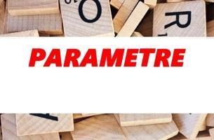 Parametreler Hangi Alfabenin Harfleri İle Sembolize Edilir?