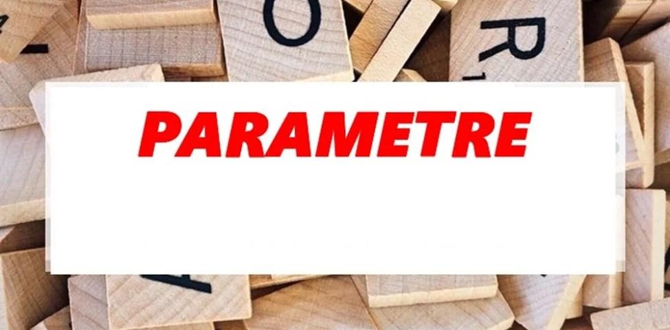 Cevap: Parametreler Hangi Alfabenin Harfleri İle Sembolize Edilir?