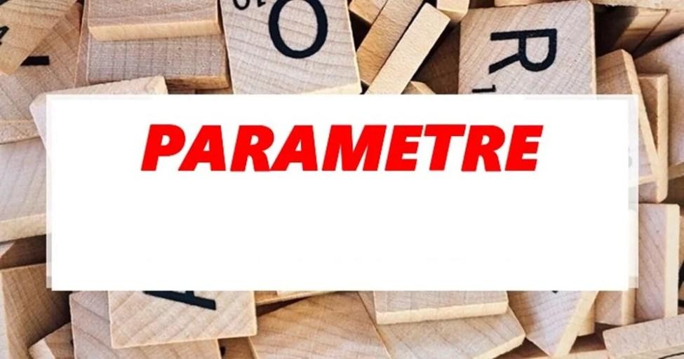 Parametreler Hangi Alfabenin Harfleri İle Sembolize Edilir