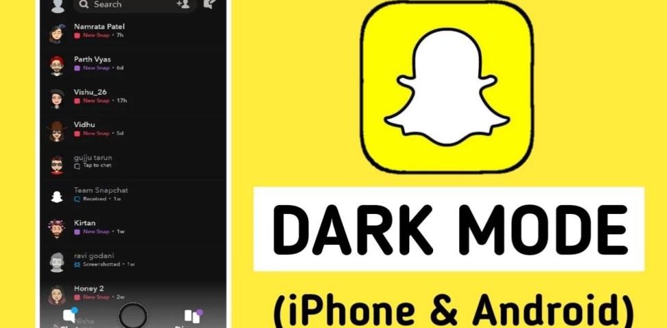 Snapchat Karanlık Mod Nasıl Yapılır? ( İos ve Android) 2021
